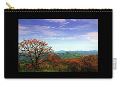 Carry-all Pouch featuring the photograph Blue Ridge Blessing by Jessica Brawley