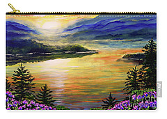 Blue Ridge Lake View Sunset Carry-all Pouch