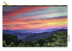Blue Ridge Mountain Color Carry-all Pouch