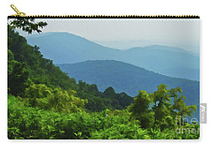 Blue Ridge Mountain Layers Carry-all Pouch