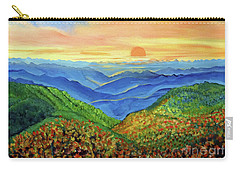 Blue Ridge Mountain Morn Carry-all Pouch