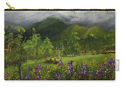 Blue Ridge Mountain Summer Landscape Painting Carry-all Pouch