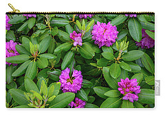Blue Ridge Mountains Rhododendron Blooming Carry-all Pouch