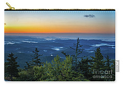 Blue Ridge Mountains Sunrise Carry-all Pouch