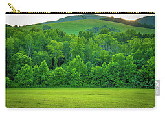 Blue Ridge Mountains Virginia   Carry-all Pouch by Henri Irizarri