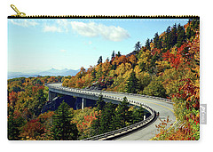 Carry-all Pouch featuring the photograph Blue Ridge Parkway Viaduct by Meta Gatschenberger