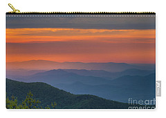 Blue Ridge Sunrise At Wintergreen  Carry-all Pouch