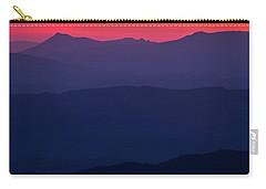 Blue Ridge Sunrise Carry-all Pouch