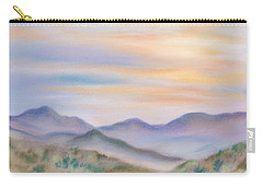 Blue Ridge Sunset In Spring Carry-all Pouch