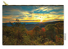 Blue Ridge Sunsets Carry-all Pouch