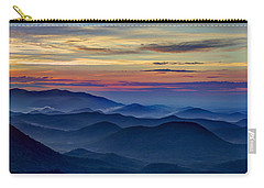 Carry-all Pouch featuring the photograph Blue Ridges Pretty Place Chapel by Reid Callaway