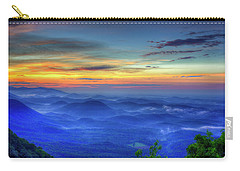 Carry-all Pouch featuring the photograph Blue Ridges Pretty Place Chapel Wedding Venue Art  by Reid Callaway