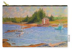 Blue Rocks ,nova Scotia Carry-all Pouch