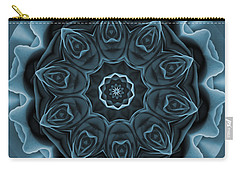 Blue Rose Mandala Carry-all Pouch