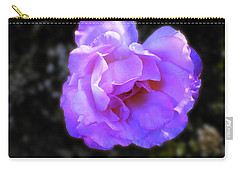 Blue Rose Carry-all Pouch by Mark Blauhoefer