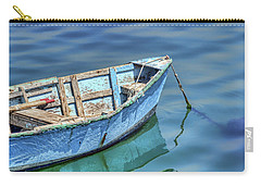 Blue Rowboat At Port San Luis 2 Carry-all Pouch