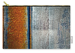 Blue Rust Carry-all Pouch