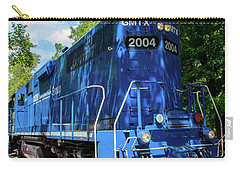 Carry-all Pouch featuring the photograph Blue by Shannon Harrington