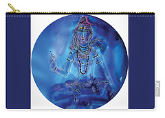 Blue Shiva  Carry-all Pouch