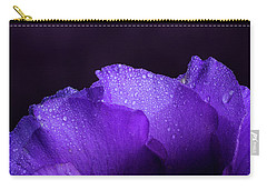 Blue Showy Prairie Gentain Carry-all Pouch by Garry McMichael