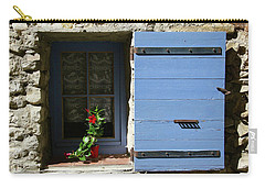 Blue Shutters Carry-all Pouch