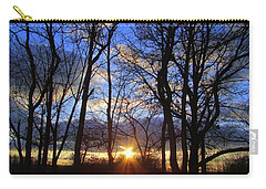 Blue Skies And Golden Sun Carry-all Pouch