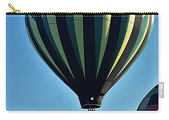Blue Skies Gentle Breezes And Soft Landings Carry-all Pouch by John Glass