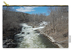 Blue Skies Over The Housatonic River Carry-all Pouch