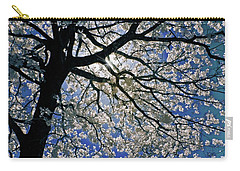 Carry-all Pouch featuring the photograph Blue Skies Smiling At Me by Linda Unger