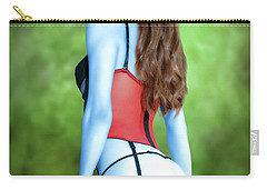 Blue Skinned Vixen Carry-all Pouch