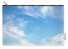 Blue Sky And Clouds Abstract Carry-all Pouch
