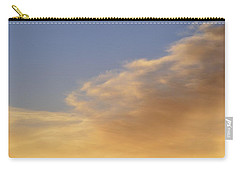 Carry-all Pouch featuring the photograph Blue Sky And Clouds Two  by Lyle Crump
