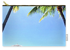 Carry-all Pouch featuring the photograph Blue Sky Breezes by Phil Koch