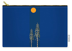 Carry-all Pouch featuring the painting Blue Sky by David Dehner