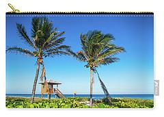 Blue Sky Palms Delray Beach Florida Carry-all Pouch