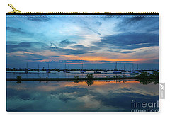 Blue Sky Sunset Carry-all Pouch by Tom Claud