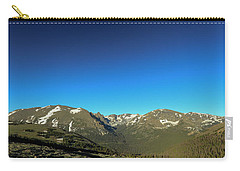 Blue Skys Over The Rockies Carry-all Pouch