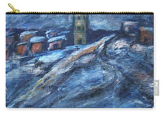 Blue Snow City Carry-all Pouch