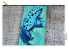 Blue-spotted Tree Frog Carry-all Pouch