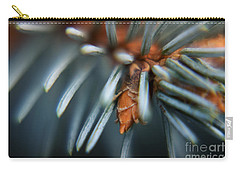 Carry-all Pouch featuring the photograph Blue Spruce by Rebecca Davis