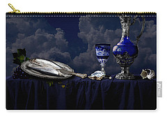 Blue Still Life Carry-all Pouch