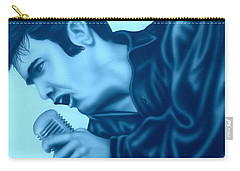 Blue Suede Shoes Carry-all Pouch by Darren Robinson