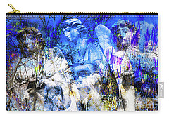 Blue Symphony Of Angels Carry-all Pouch