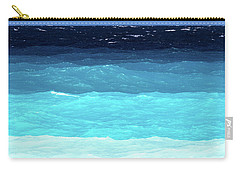Blue Tones Of Ionian Sea Carry-all Pouch