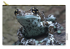 Blue Tree Frog Carry-all Pouch