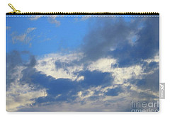Carry-all Pouch featuring the photograph Blue Two by Jesse Ciazza