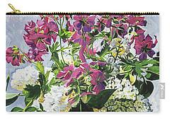 Blue Vase Arrangement Carry-all Pouch