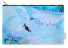 Blue Water Wet Sand Carry-all Pouch by Stephanie Grant