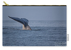 Blue Whale Tail Carry-all Pouch by Suzanne Luft