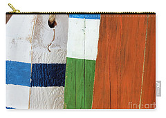 Blue White Green Orange  Carry-all Pouch